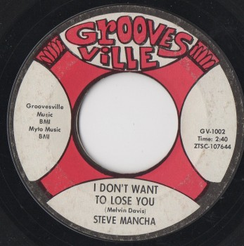 STEVE MANCHA - I DON'T WANT TO LOSE YOU