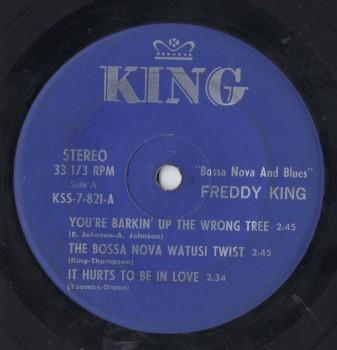 FREDDIE KING  - BOSSA NOVA AND BLUES Rare EP