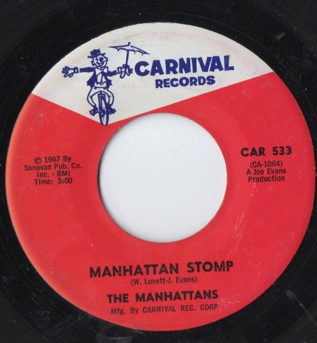 MANHATTANS - MANHATTAN STOMP