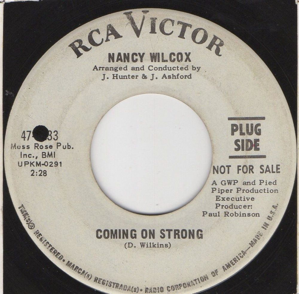 NANCY WILCOX - COMING ON STRONG