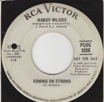 NANCY WILCOX - COMING ON STRONG - PROMO