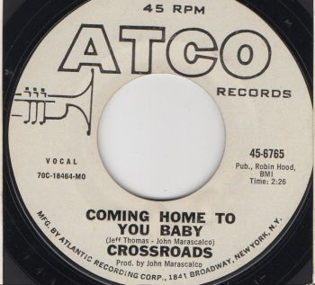 CROSSROADS - COMING HOME TO YOU BABY