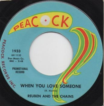 REUBEN AND THE CHAINS - WHEN YOU LOVE SOMEONE