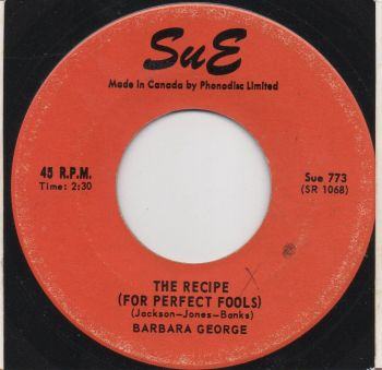 BARBARA GEORGE - TRY AGAIN
