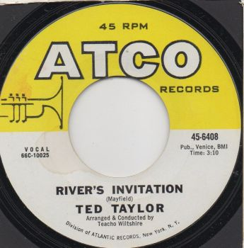 TED TAYLOR - RIVER'S INVITATION