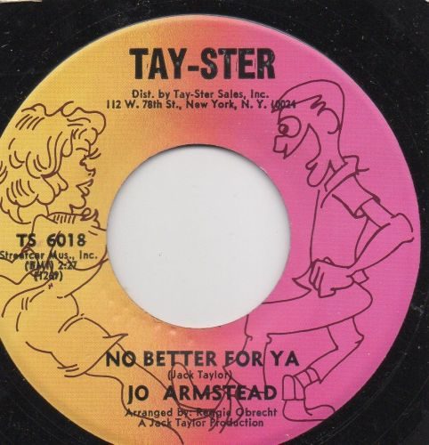 JO ARMSTEAD - NO BETTER FOR YA