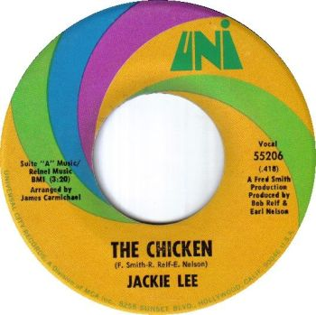 JACKIE LEE - THE CHICKEN / I LOVE YOU