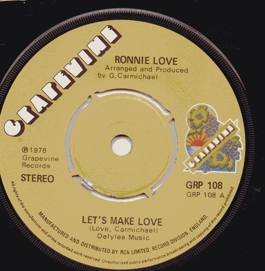 RONNIE LOVE - LETS MAKE LOVE