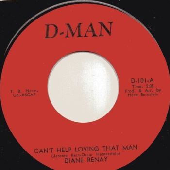 DIANE RENAY - CANT HELP LOVING THAT MAN