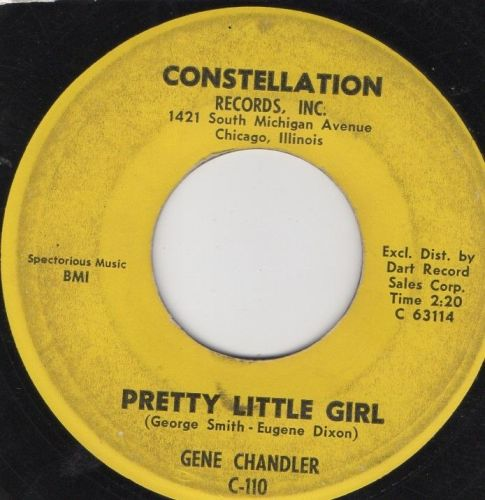 GENE CHANDLER - PRETTY LITTLE GIRL