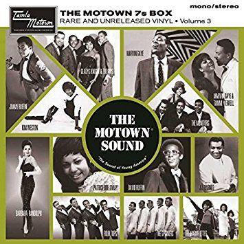 The Motown 7's Vinyl: Volume 3 Box set