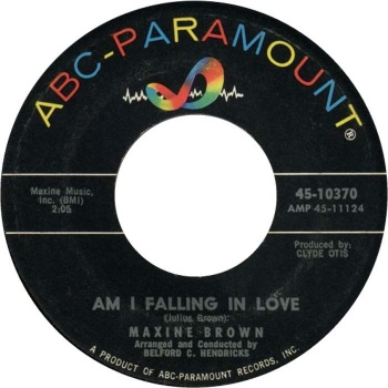 MAXINE BROWN - AM I FALLING IN LOVE