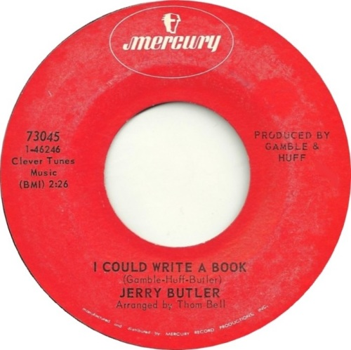 JERRY BUTLER - I COULD WRITE A BOOK