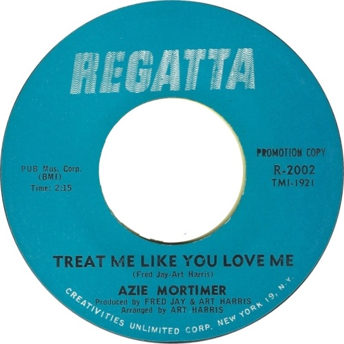 AZIE MORTIMER - TREAT ME LIKE YOU LOVE ME (PROMO)