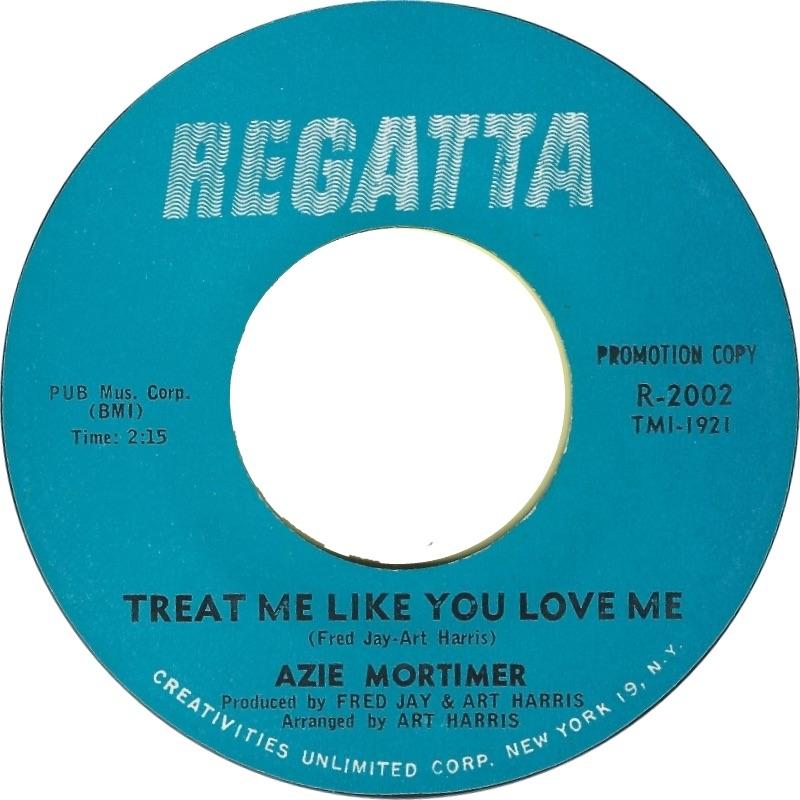 AZIE MORTIMER - TREAT ME LIKE YOU LOVE ME (PROMO)