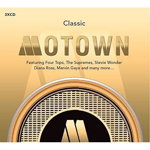 CLASSIC MOTOWN 3X CD COMPILATION