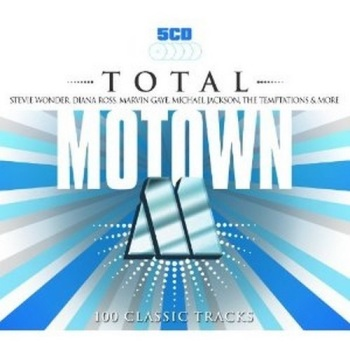 TOTAL MOTOWN 5X CD COMPILATION