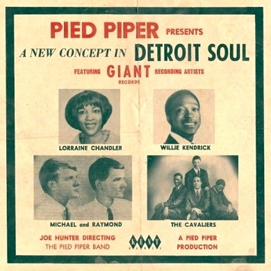 VARIOUS - PIED PIPER PRESENTS: A NEW CONCEPT IN DETROIT SOUL