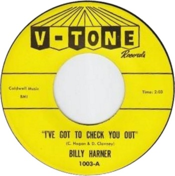 BILLY HARNER - I'VE GOT TO CHECK YOU OUT