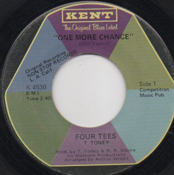 FOUR TEES - ONE MORE CHANCE