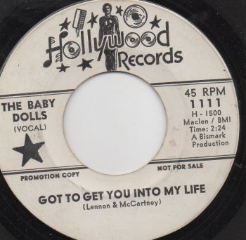 THE BABY DOLLS - GOT TO GET YOU INTO MY LIFE (PROMO)