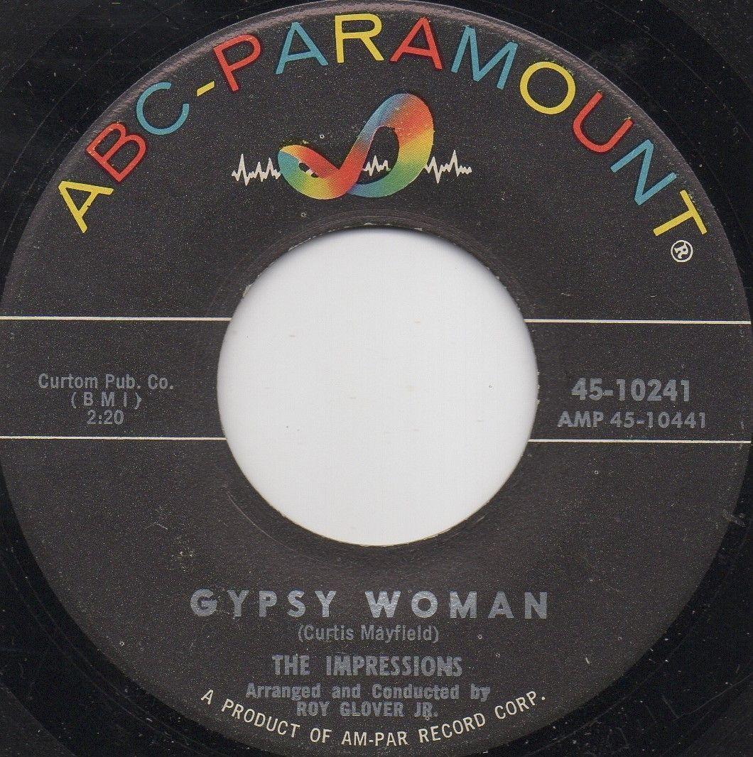 THE IMPRESSIONS - GYPSY WOMAN