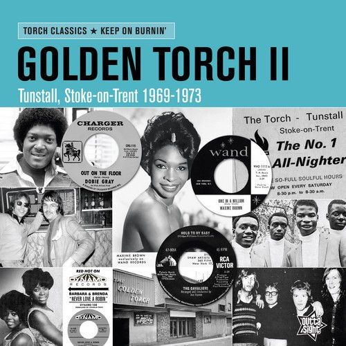 Various - Golden Torch II Keep On Burnin' (LP, Comp, Ltd)