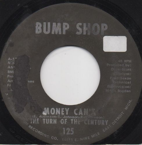 The Turn Of The Century - Money Can't