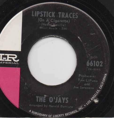 The O'Jays - Lipstick Traces (On A Cigarette)
