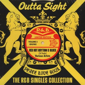 Various - Outta Sight The R&B Singles Collection Volume 2 (LP, Comp, Ltd)