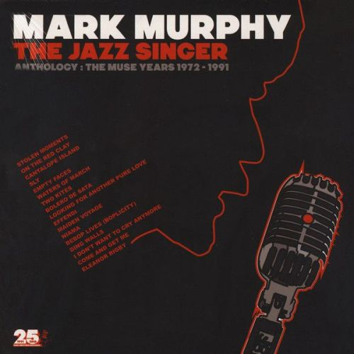 Mark Murphy - The Jazz Singer (Anthology: The Muse Years 1972-1991) (2xLP,