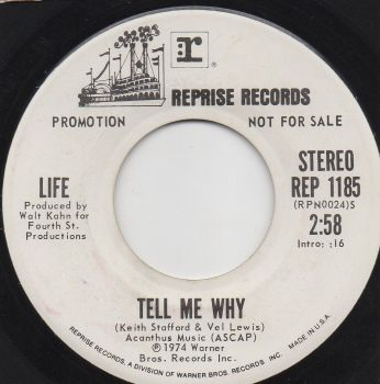 LIFE - TELL ME WHY (PROMO)
