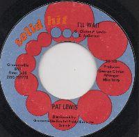 PAT LEWIS - WARNING / I'LL WAIT