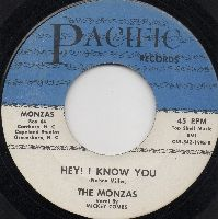 THE MONZAS - HEY! I KNOW YOU