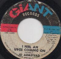 JO ARMSTEAD - I FEEL AN URGE COMING ON