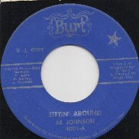 AL JOHNSON - SITTIN' AROUND