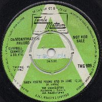 THE MARVELETTES - WHEN YOU'RE YOUNG AND IN LOVE (PROMO)