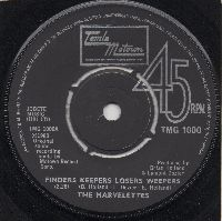 THE MARVELETTES - FINDERS KEEPERS LOSERS WEEPERS