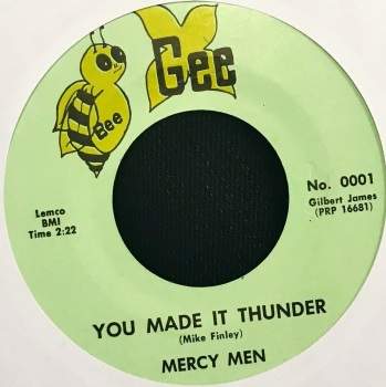 MERCY MEN - YOU MADE IT THUNDER