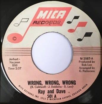 RAY AND DAVE - WRONG, WRONG, WRONG
