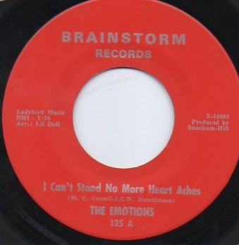 THE EMOTIONS - I CAN'T STAND NO MORE HEARTACHES