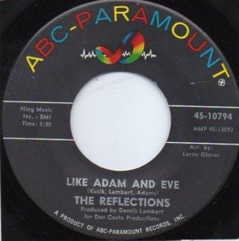 THE REFLECTIONS - LIKE ADAM AND EVE