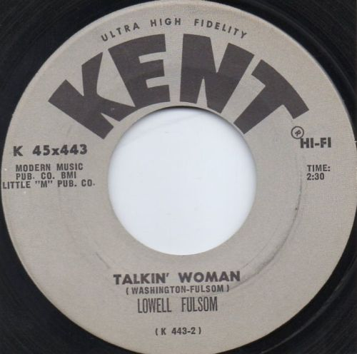 LOWELL FULSOM - TALKIN' WOMAN