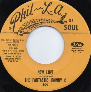 THE FANTASTIC JOHNNY C. - NEW LOVE