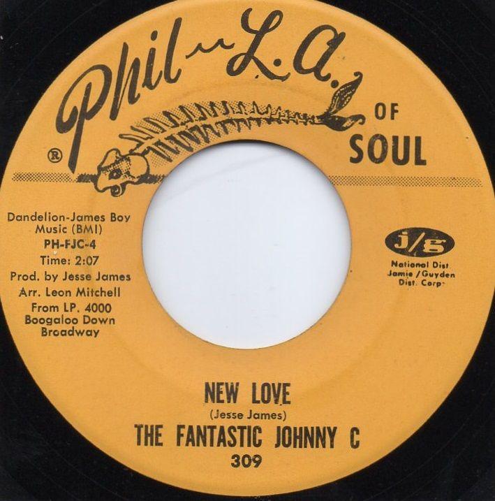 THE FANTASTIC JOHNNY C. - NEW LOVE