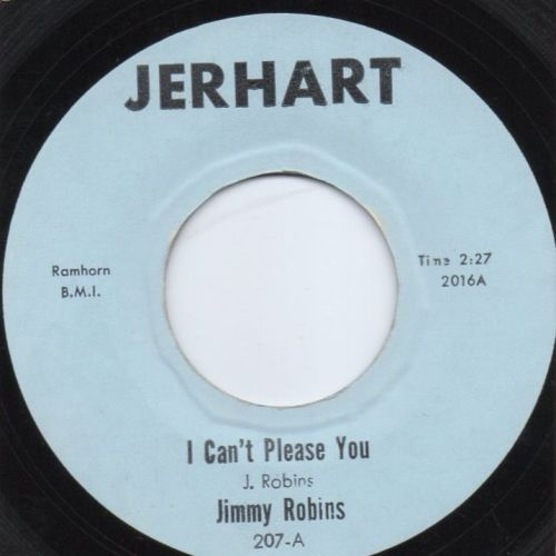 JIMMY ROBINS - I CAN'T PLEASE YOU