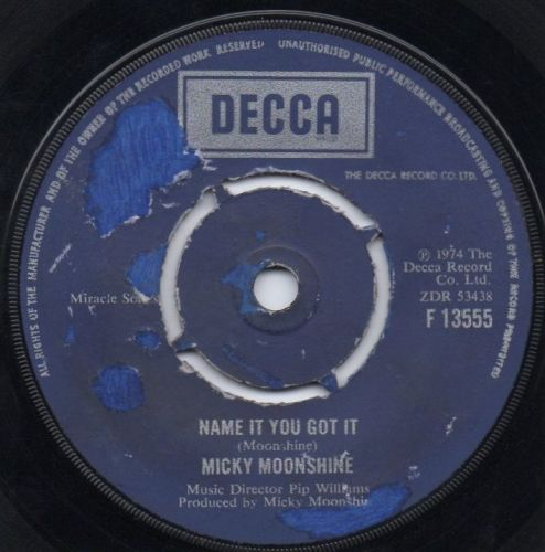 MICKY MOONSHINE - NAME IT YOU GOT IT