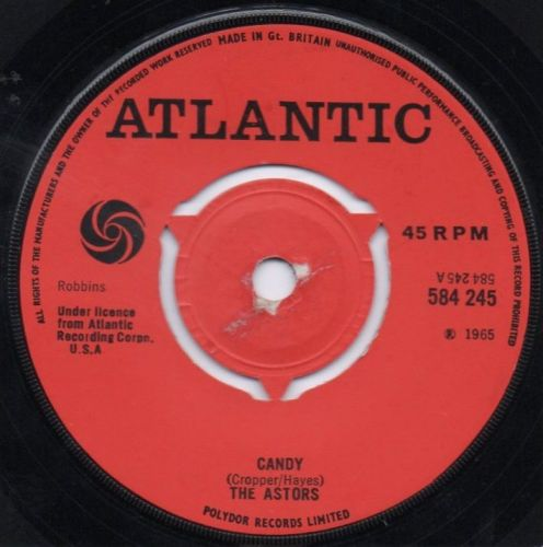 THE ASTORS - CANDY