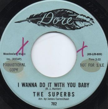 THE SUPERBS - I WANNA DO IT WITH YOU BABY