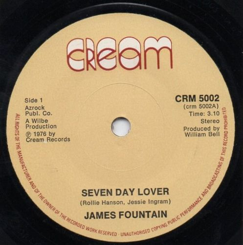 JAMES FOUNTAIN - SEVEN DAY LOVER